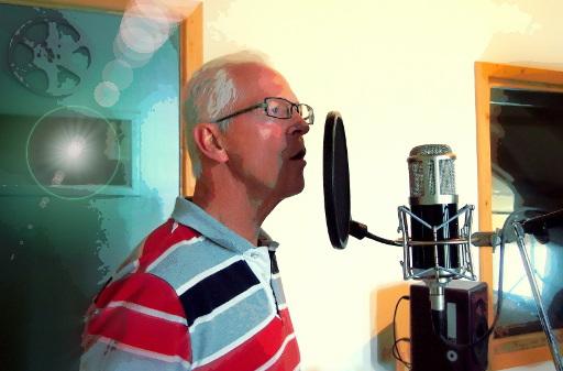 Wim Niesten zingt bij studio JP