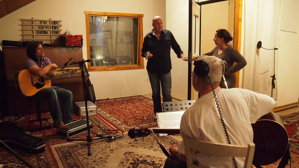 deksels in de studio